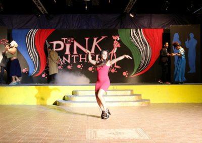 Spettacolo teatrale la pantera rosa