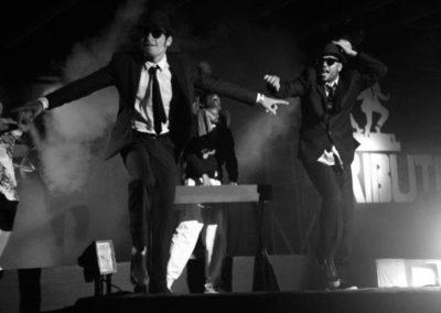 Animatori Ballerini durante lo spettacolo dei Blues Brothers