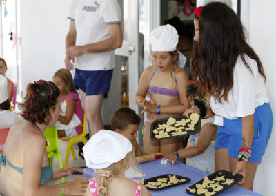 Animazione bambini con scuola di cucina